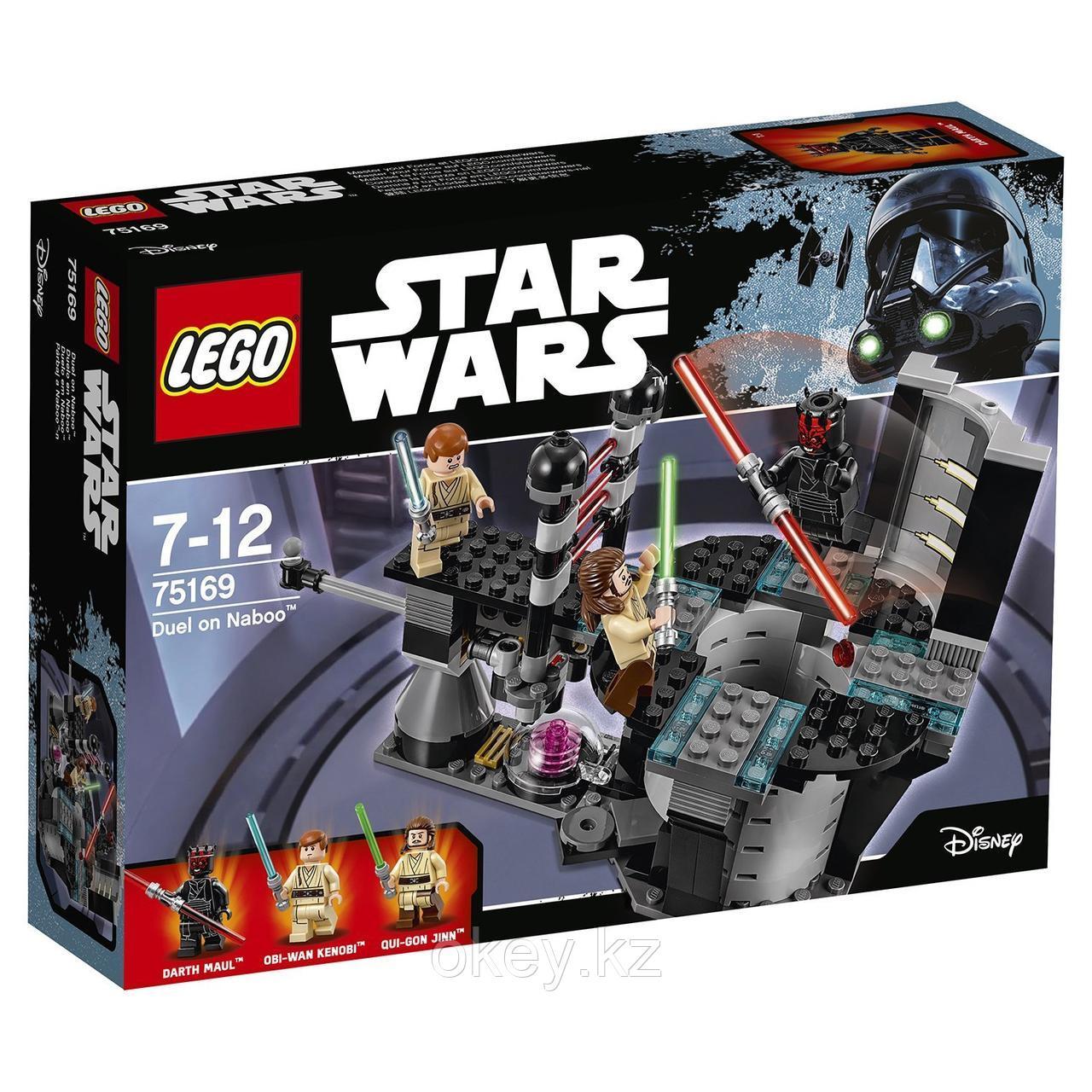 LEGO Star Wars: Дуэль на Набу Star Wars 75169