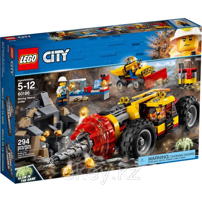 LEGO City: Тяжелый бур для горных работ 60186