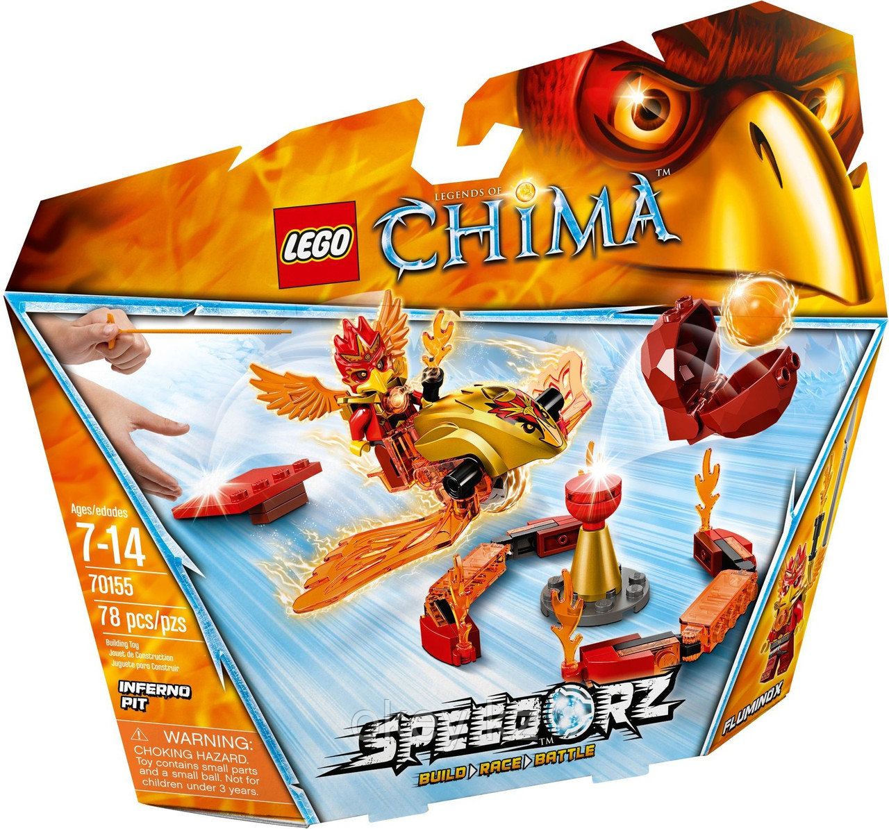 LEGO Chima: Испытание огнём 70155
