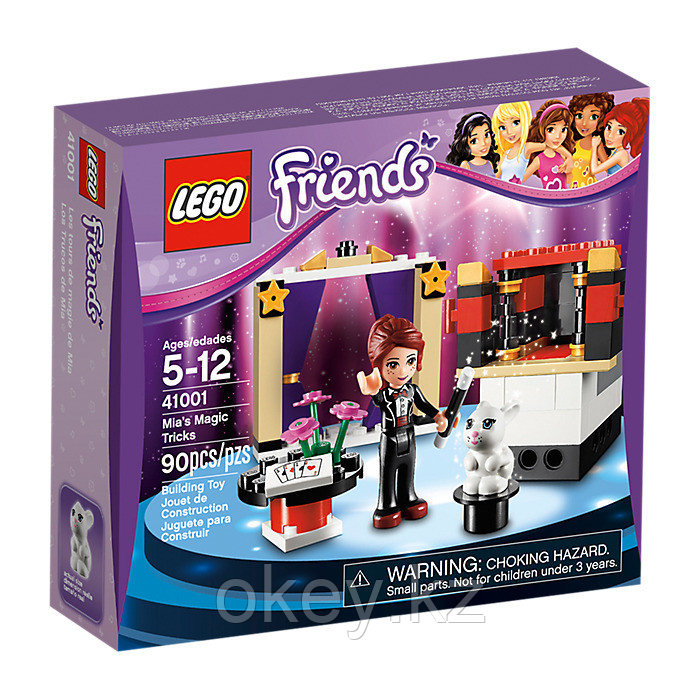 LEGO Friends: Мия — фокусница 41001