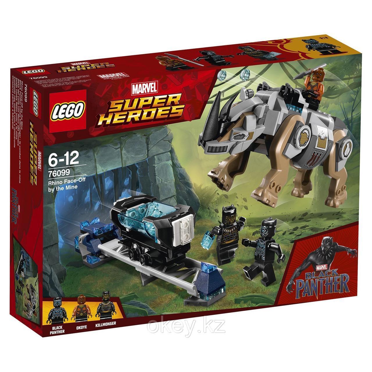 LEGO Super Heroes: Поединок с Носорогом 76099