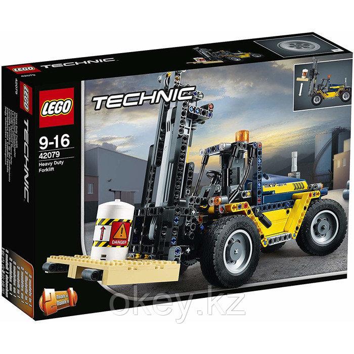 LEGO Technic: Сверхмощный вилочный погрузчик 42079