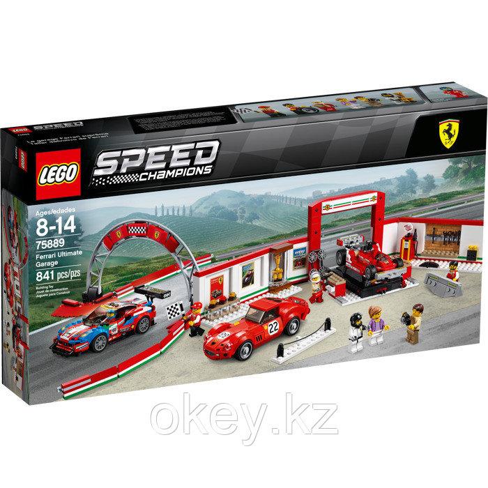 LEGO Speed Champions: Уникальный гараж Ferrari 75889