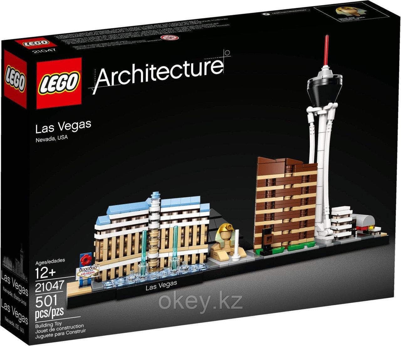 LEGO Architecture: Лас-Вегас 21047
