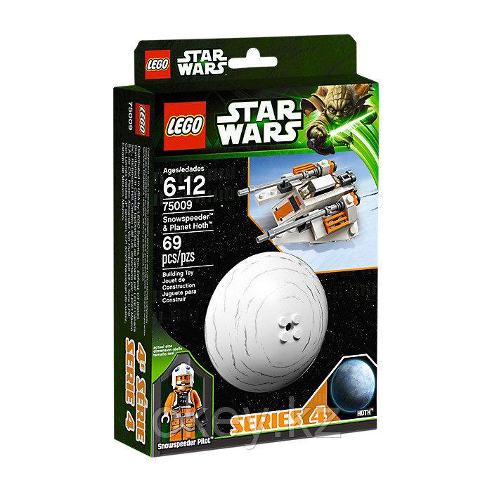 LEGO Star Wars: Снеговой спидер и Планета Хот 75009