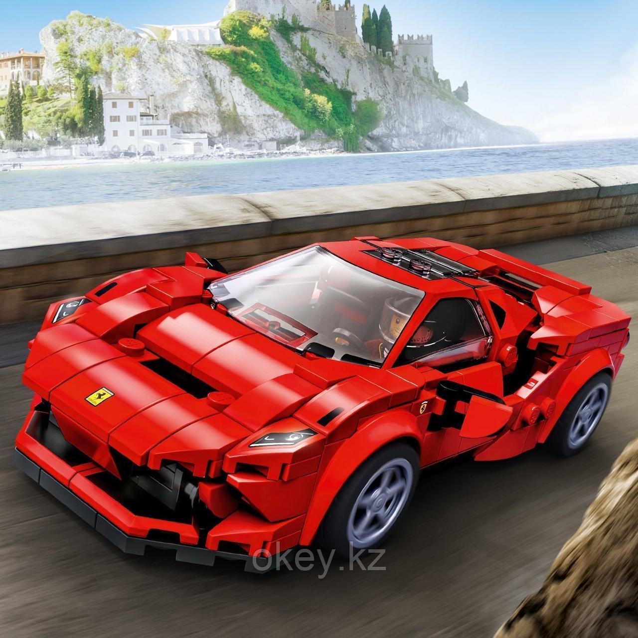 LEGO Speed Champions: Ferrari F8 Tributo 76895 - фото 4