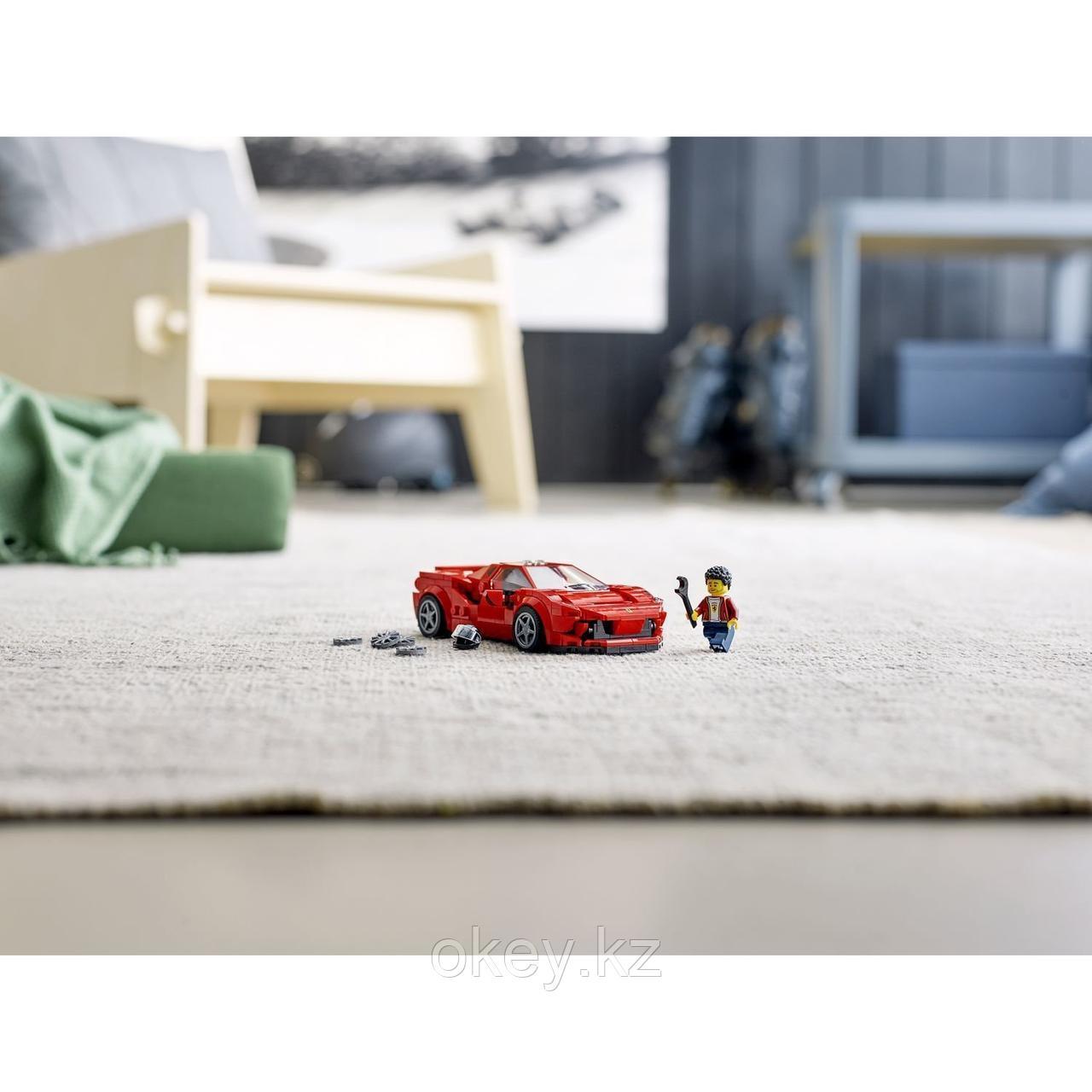 LEGO Speed Champions: Ferrari F8 Tributo 76895 - фото 9