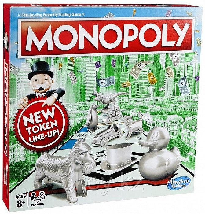 Hasbro: Игра настольная Монополия Классическая (обновленная) C1009