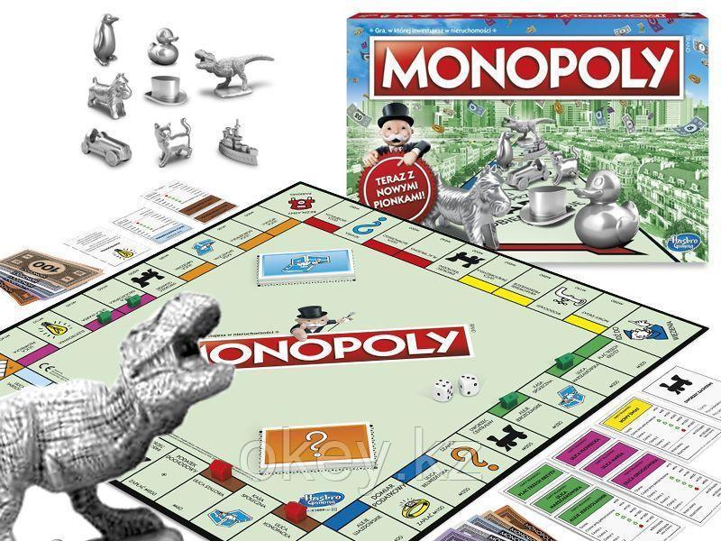 Hasbro: Игра настольная Монополия Классическая (обновленная) C1009 - фото 2