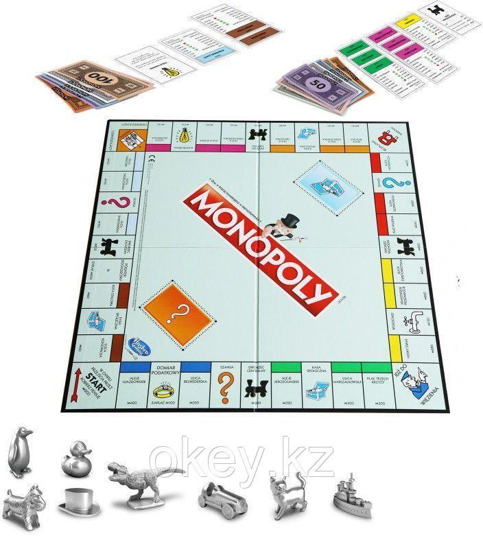 Hasbro: Игра настольная Монополия Классическая (обновленная) C1009 - фото 3