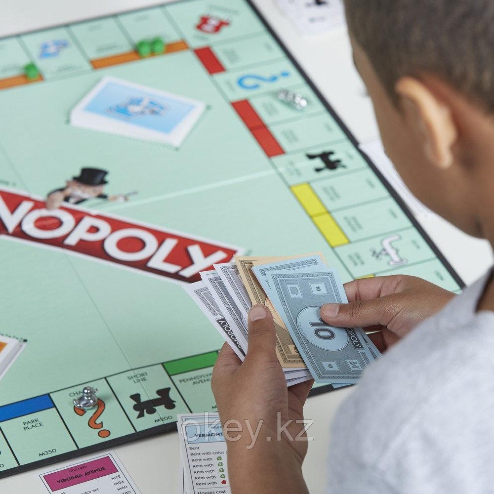 Hasbro: Игра настольная Монополия Классическая (обновленная) C1009 - фото 6