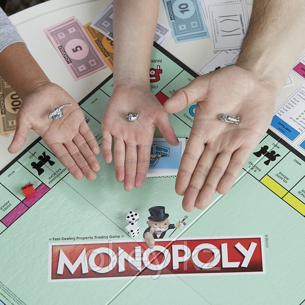 Hasbro: Игра настольная Монополия Классическая (обновленная) C1009 - фото 7