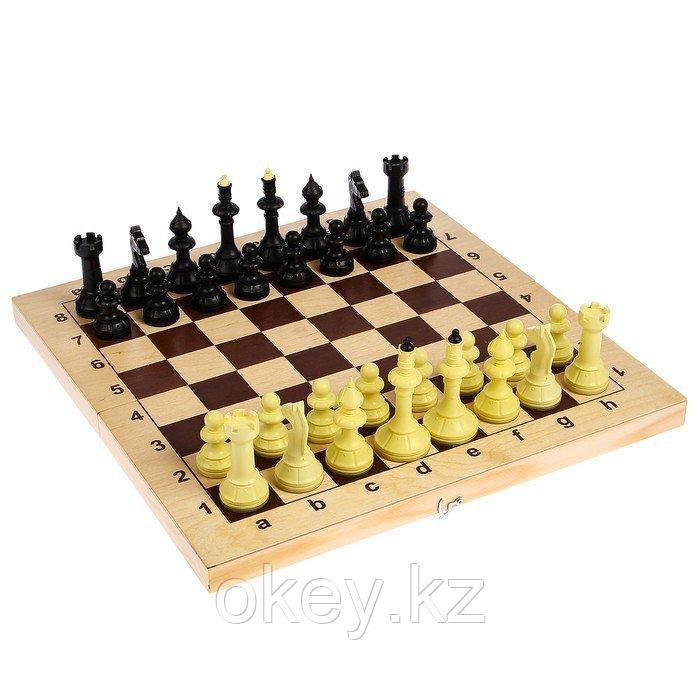 Шахматы. Владспортпром: Шахматы Айвенго с деревянной доской 03-008