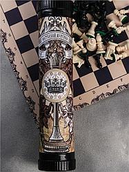 Шахматы. Grood's Goods: Шахматы в тубусе Настоящий мужчина. Всегда первый. Всегда лучший