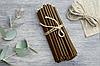 Свечи из воска коричневые  от 24 тенге за 1 шт Длина свечи 165мм