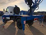 Автовышка АГП от 22 метра вездеход 4х4 на шасси ГАЗ, фото 3