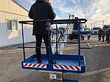 Автовышка АГП от 22 метра вездеход 4х4 на шасси ГАЗ, фото 7