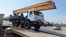 Автовышки АГП  до 45 метров вездеходы 6х6 и 4х4