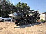 Автовышка АГП от 28 метров вездеход 6х6 УРАЛ, фото 4