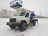 Автовышка АГП от 28 метров вездеход 6х6 УРАЛ, фото 5