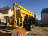 Автовышка АГП от 28 метров вездеход 6х6 УРАЛ, фото 10