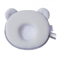 Подушка анатомическая Candide воздухопроницаемая Panda Air белый с серым