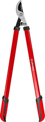 GRINDA сучкорез, R-740 большой плоскостной  со стальными рукоятками,, фото 2