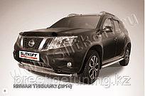 Защита переднего d57 бампера Nissan Terrano 2014-