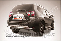Защита заднего бампера d42 Nissan Terrano 2014-