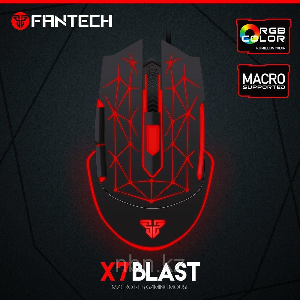 Компьютерная игровая проводная мышь Fantech X7 Blast
