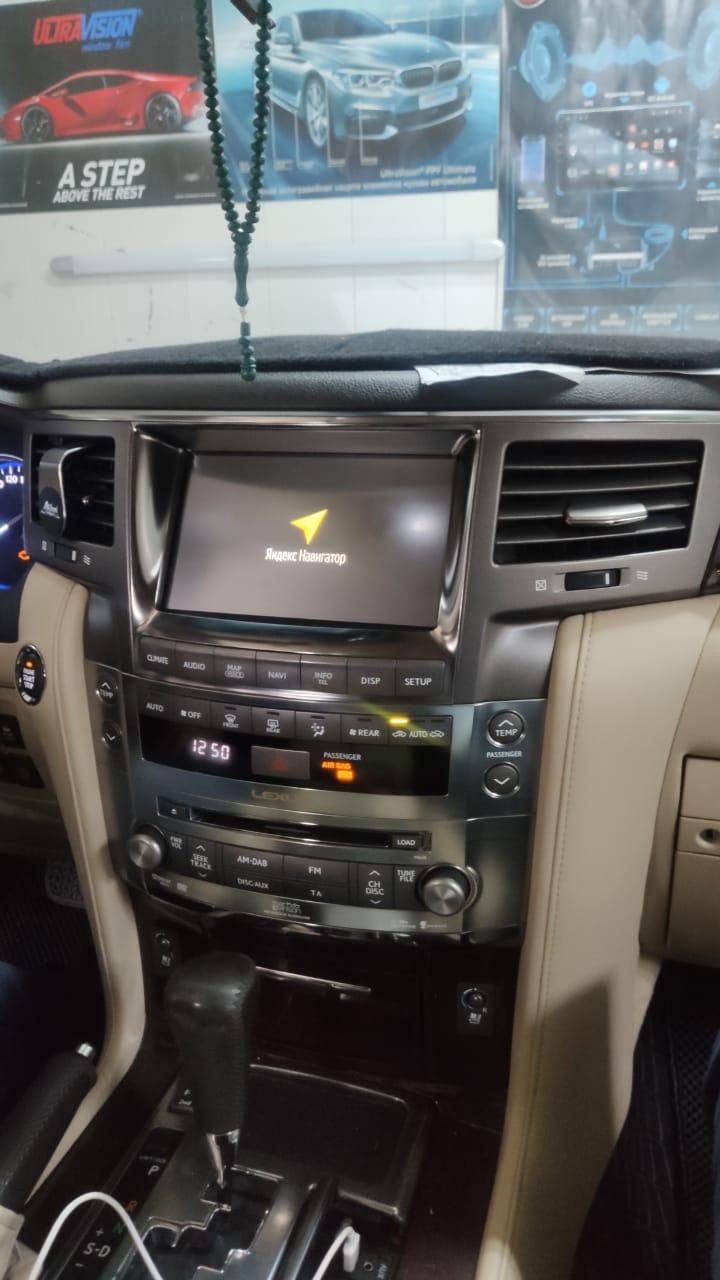 Lexus LX 2012-2015 3306 навигационный блок Android