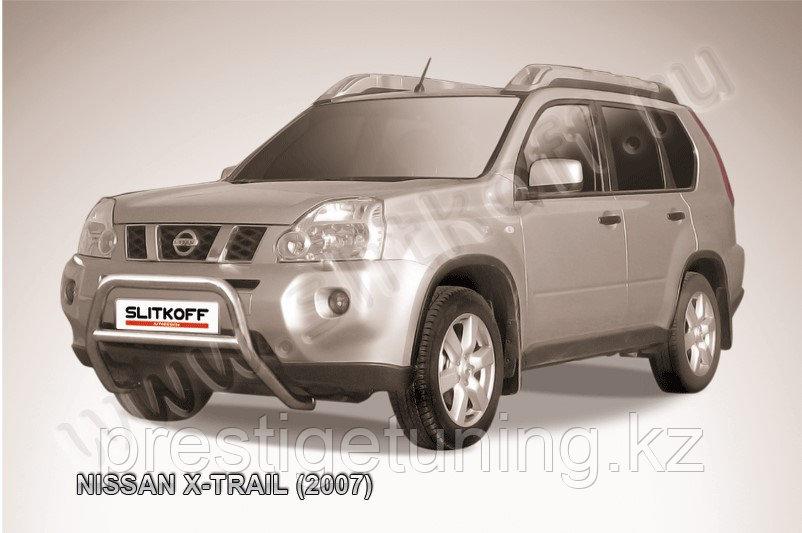 Кенгурятник d57 низкий Nissan X-TRAIL 2007-11