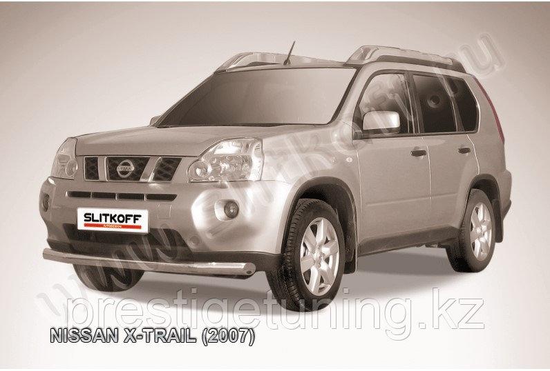Защита переднего бампера d76 Nissan X-TRAIL 2007-11