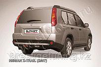Защита заднего бампера d57 Nissan X-TRAIL 2007-11