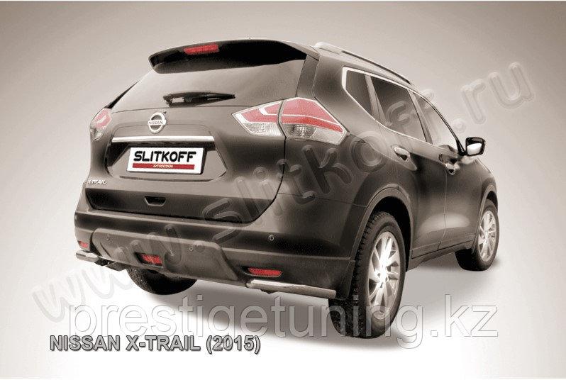 Уголки d57 Nissan X-TRAIL 2014-18