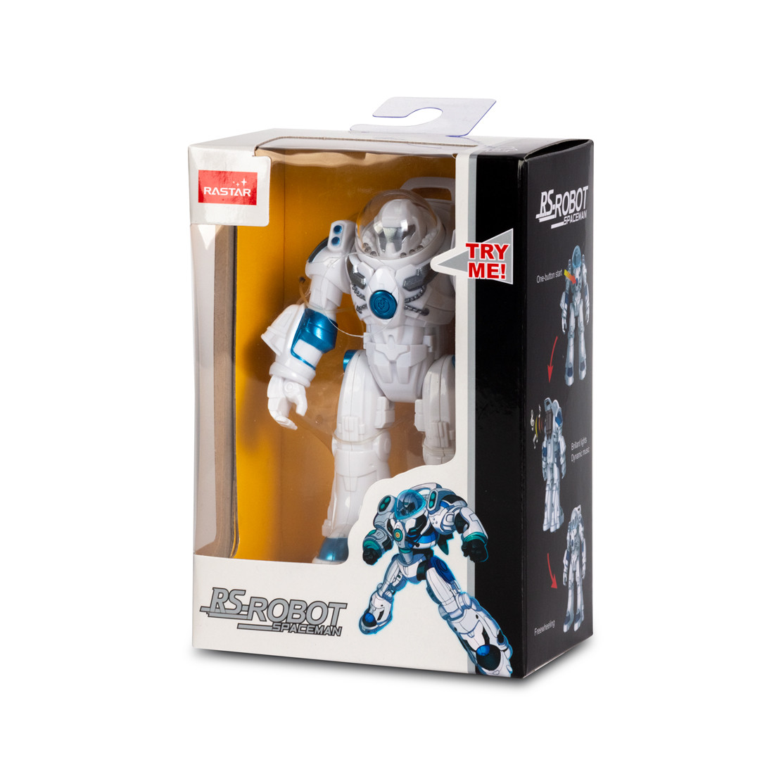 Робот RASTAR RS MINI Robot Spaceman 77100W (Свет, Музыка, Движущиеся съемные руки и ноги) - фото 3