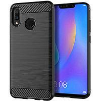 Чехол для Huawei Y6 2019 Carbon Series  Black (112687)