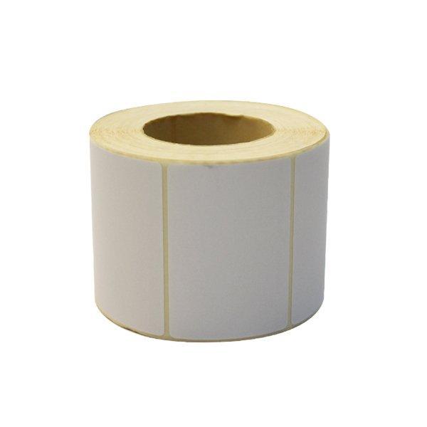 Термоэтикетка 58х40мм, на картоне, бел., термо (непринт.), ЭКО, Бумага