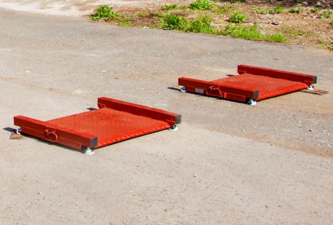 Весы автомобильные беспроводные МВСК П-30-К (0,8х1,0х2шт.)