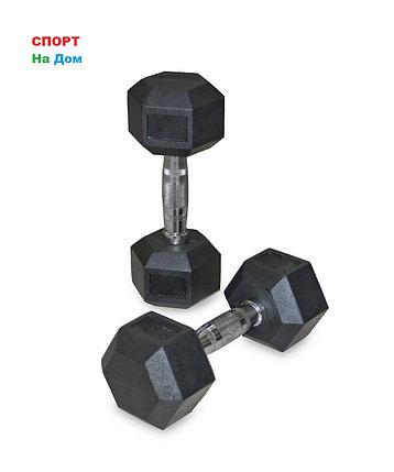 Гантели гексагональные 2 штуки по 6 кг, фото 2