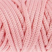 Шнур для рукоделия полиэфирный 'Софтино' 4 мм, 50м/110гр (св. розовый)