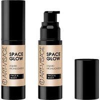 Жидкий хайлайтер для лица Art-Visage Space Glow, тон 23, sandy