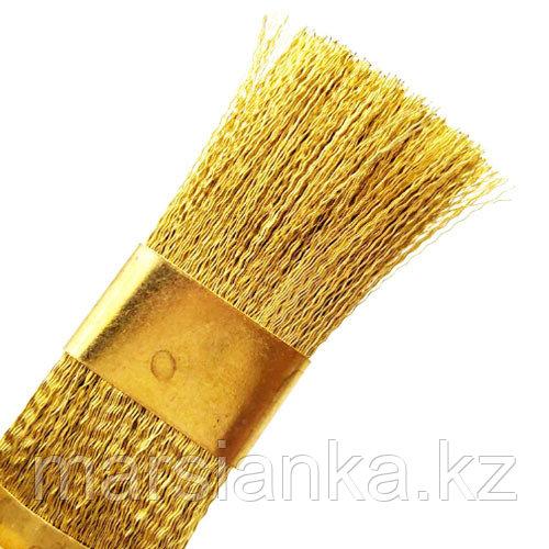 Щетка для чистки фрез (латунь)