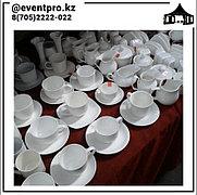 Тарелки фарфоровые в аренду