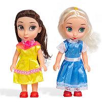 Набор мини-кукол X Game kids 8229 (Серия Лили - маленькая принцесса, 2 миникуклы, 16см)