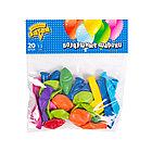 Воздушные шарики ВЕСЁЛАЯ ЗАТЕЯ 1111-0140 (Размер 13 см, Латекс)