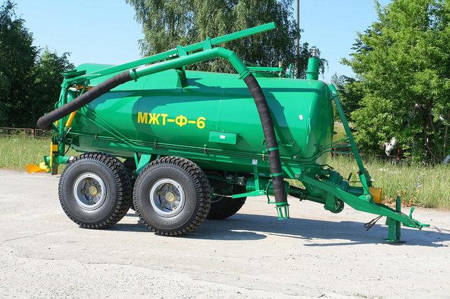 Машина для внесения жидких органических удобрений МЖТ-Ф-6, фото 2