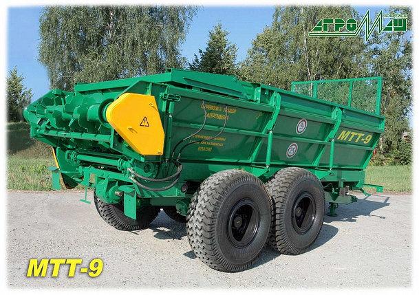 Машина для внесения твердых органических удобрений МТТ-9, фото 2