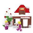 Игровой конструктор Ausini 24401 (Мир Чудес, Зимний домик, 130 деталей)