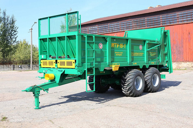 Машина для внесения твердых органических удобрений МТУ-15, фото 2